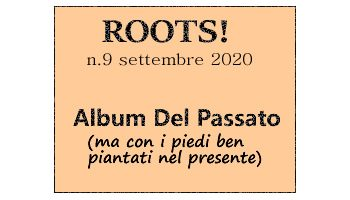 Roots! n.9 settembre 2020