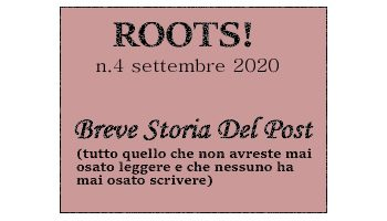 Roots! n.4 settembre 2020