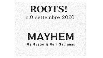 Roots! n.0 settembre 2020