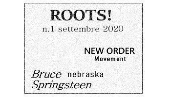 Roots! n.1 settembre 2020