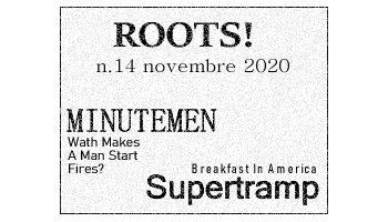 Roots! n.14 novembre 2020
