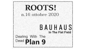 Roots! n.16 ottobre 2020