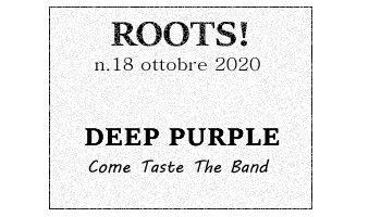 Roots! n.18 ottobre 2020