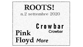 Roots! n.2 settembre 2020