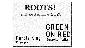 Roots! n.3 settembre 2020