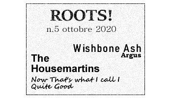Roots! n.5 ottobre 2020