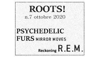 Roots! n.7 ottobre 2020