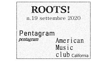 Roots! n.19 settembre 2020
