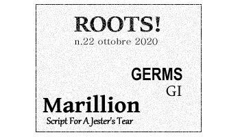 Roots! n.22 ottobre 2020