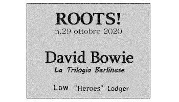 Roots! n.29 ottobre 2020