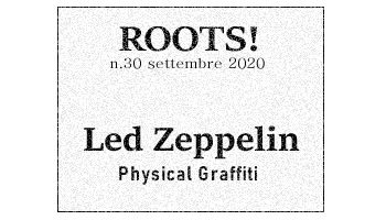 Roots! n.30 settembre 2020