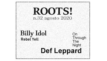 Roots! n.32 agosto 2020