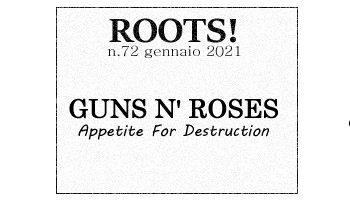 Roots! n.72 gennaio 2021